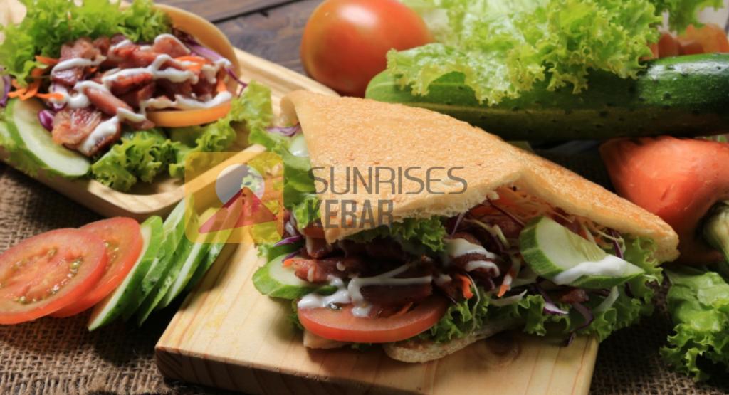 Bánh mì Thổ Nhĩ Kỳ của SUNRISES KEBAB đậm đà thơm ngon